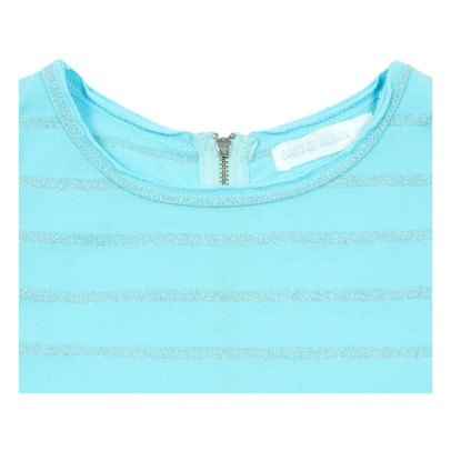 Oaks of acorn Pam Striped Crop Top-listing