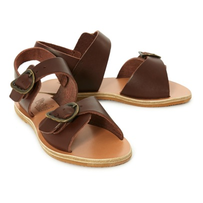 Ancient Greek Sandals Sandalias de Cuero Little Irini-listing