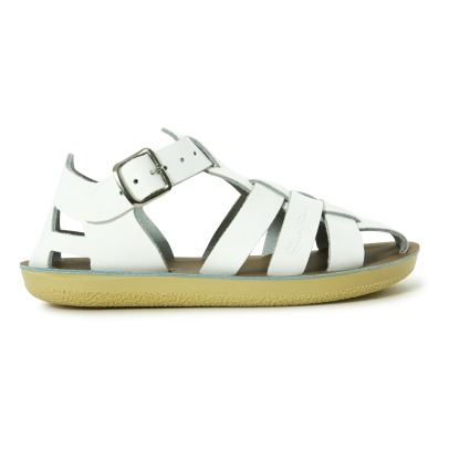 Salt-Water Shark Waterproof Leather Sandals-listing
