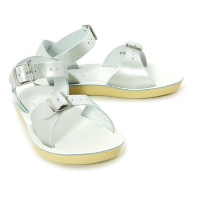 Salt-Water Surfer Waterproof Leather Sandals-listing