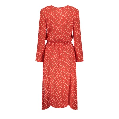 Leon & Harper Raisin Floral Belted Maxi Dress-listing
