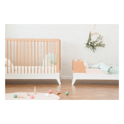 Nobodinoz Conversion Kit for New Horizon Baby Bed - Beech Wood-listing