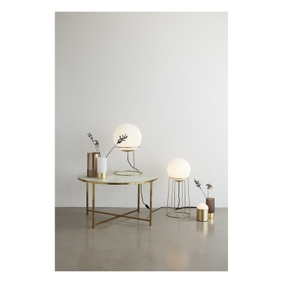 Z kupferlampe kupferrot present time design erwachsene for Runde lampe