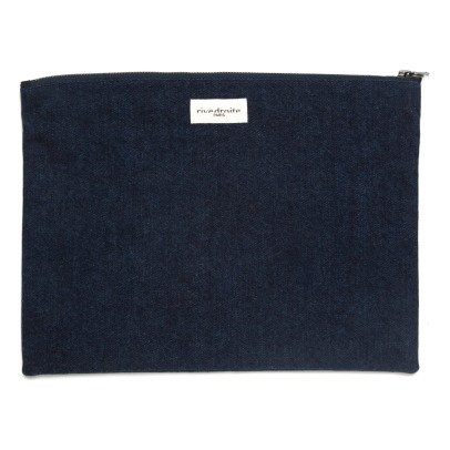 Rive Droite Gabrielle Recycled Denim Pouch-listing