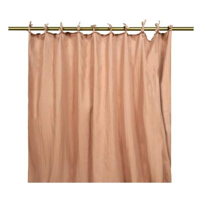 Lab Cotton Gauze Curtain with Fastener-listing