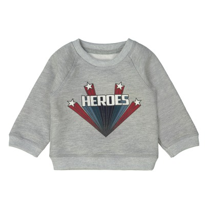 "Louis Louise Sweatshirt ""Heroes"" James -listing"