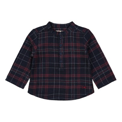Louis Louise Grand Père Checkered Shirt -listing