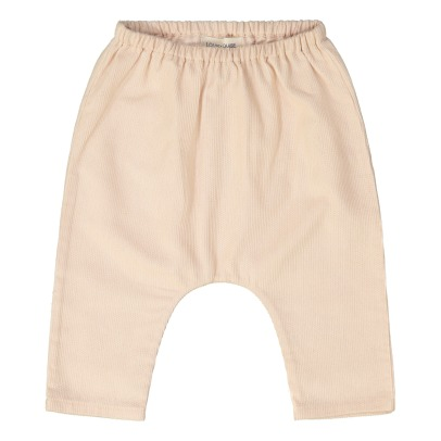 Louis Louise Jungle Velvet Baby Trousers -listing