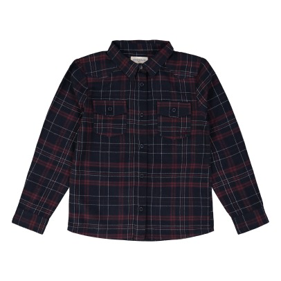 Louis Louise Luke Checkered Shirt -listing