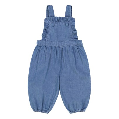 Louis Louise Chapo Chambray Dungarees -listing