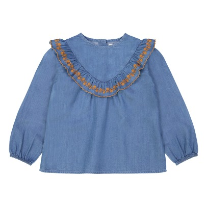 Louis Louise Louna Chambray Blouse-listing