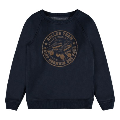 "Louis Louise Sweatshirt ""Roller Team"" Pailleté James-listing"