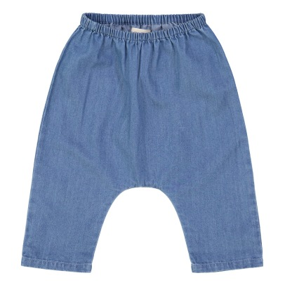 Louis Louise Jungle Chambray Baby Trousers -listing