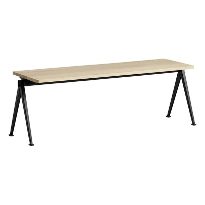 Hay Pyramid 11 140x140cm Matte Oak Bench -  Wim Rietveld Re-edition -listing