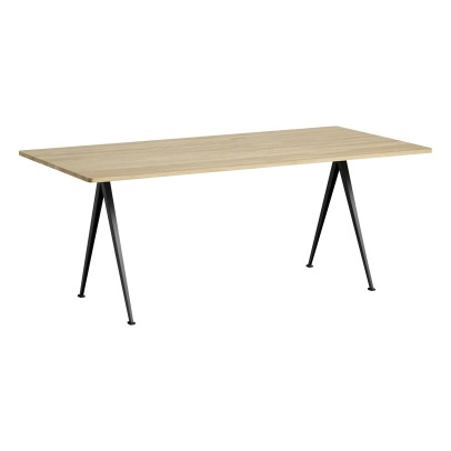 Hay Pyramid 02 190x85cm Matte Oak Table - Friso Kramer & Win Rietveld Re-edition -listing