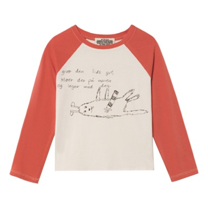 Bobo Choses W.I.M.A.M.P Bicolor Organic Cotton T-shirt  -product