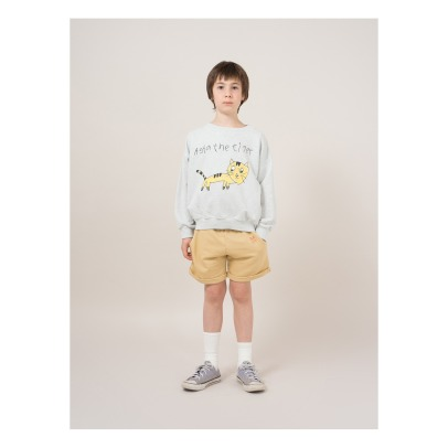 Bobo Choses W.I.M.A.M.P Tiger Cotton Sweatshirt -product