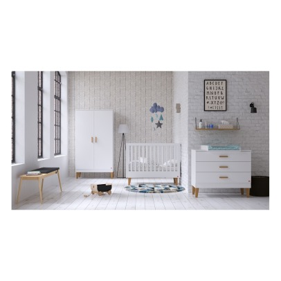 VOX Lounge Oak Baby Changing Table -listing