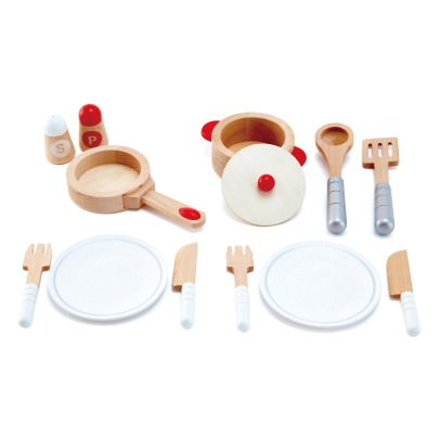 Hape Wooden Dining Doll's Set - 13 Pieces -listing
