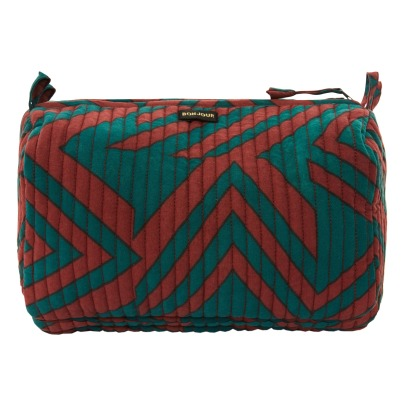 Bonjour Quilted Toiletry Bag-listing