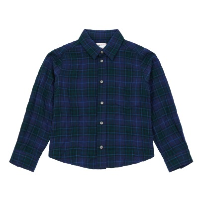 Morley Benjamin Checkered Flannel Shirt -listing
