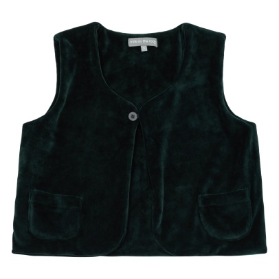 Milk on the Rocks Gilet Façon Fourrure Pablo-listing