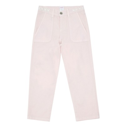 Little Karl Marc John Pantalon Broderies Ethniques Palty-listing