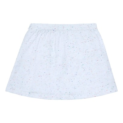 Little Karl Marc John Embroidered Pockets Speckled Skirt-listing