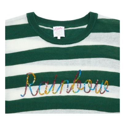 Little Karl Marc John Pull Rayé Rainbow Sequins Mailly-listing