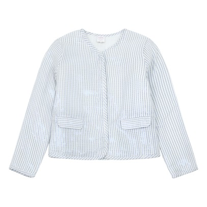 Little Karl Marc John  Iridescent Cotton Jacket-listing
