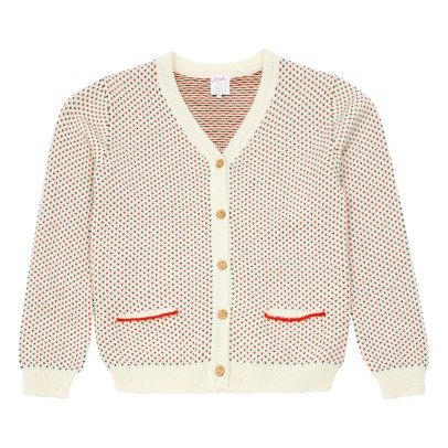 Little Karl Marc John Cardigan All-Over Gelaty-listing