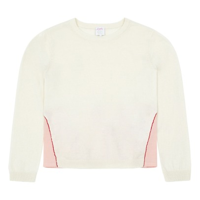 Little Karl Marc John Pullover bi-materiale Mescaly-listing