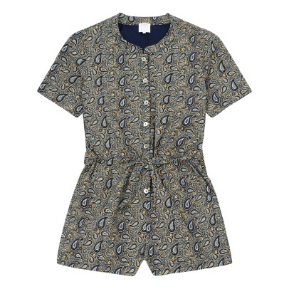 Little Karl Marc John Yasmy Bandana Print Playsuit-listing