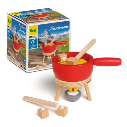 Erzi Wooden Fondue Cheese Set -listing
