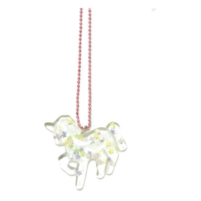 Pop Cutie Stars and Unicorns Necklace-listing
