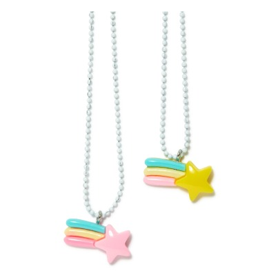 Pop Cutie Set of 2 BFF Shooting Star Necklaces-listing