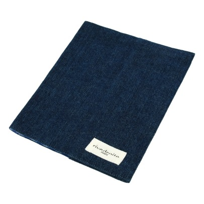Rive Droite Gabin Recycled Denim Health Book Cover-listing