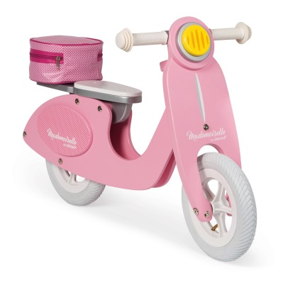 Janod Scooter Mademoiselle in legno -listing