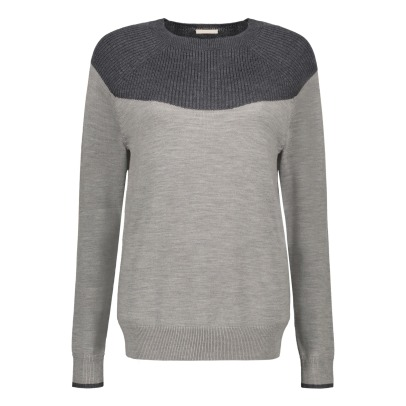 Fub Two-tone Jumper - Women's Collection -listing