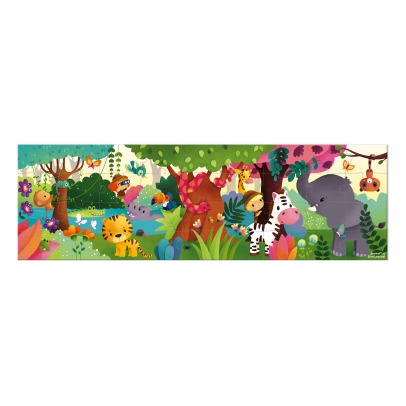 Janod Panoramic Jungle Puzzle - 36 Pieces -listing