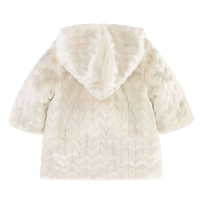 CARREMENT BEAU Faux Fur Baby Coat -listing