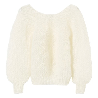 Maiami Pullover aus Mohair-Wolle Blousy-listing