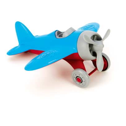 Green Toys Plane with turning helix-listing
