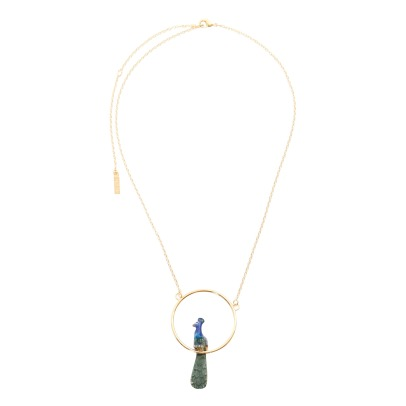 Nach Mini Peacock Necklace-listing