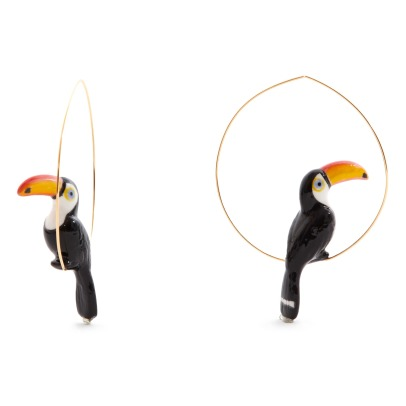 Nach Toucan Large Hoop Earrings-listing