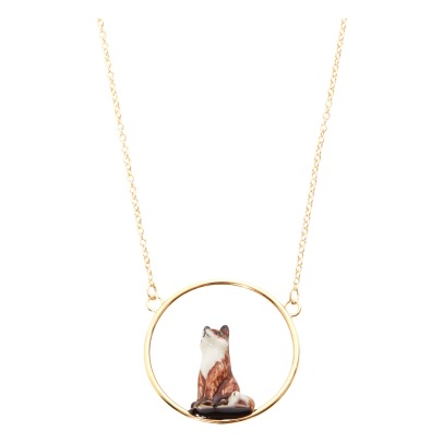 Nach Mini Fox Necklace-listing