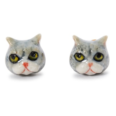 Nach Mini Cat Earrings-listing