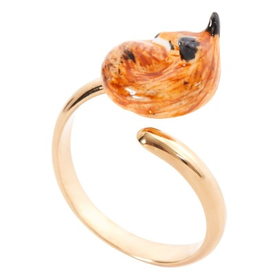 Nach Sleeping Fox Adjustable Ring-listing