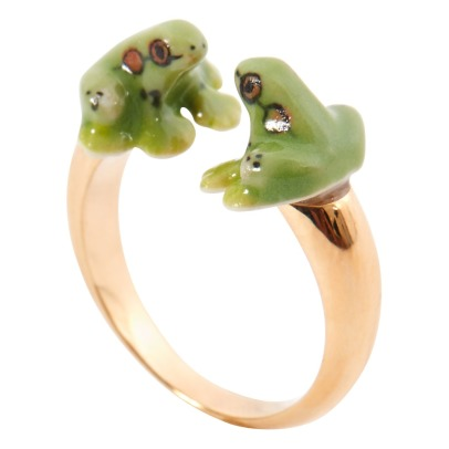 Nach Face To Face Frog Ring-listing