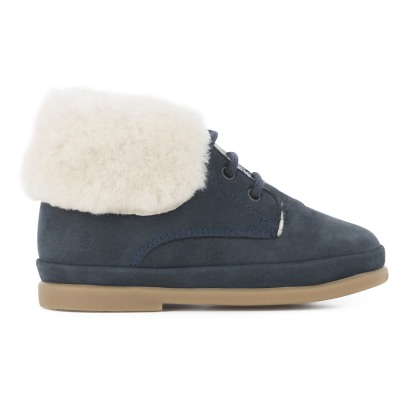 Pom d'Api Fan Fan Fur Leather Ankle Boots -listing